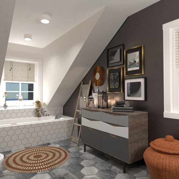 nuotraukos butas baldai dekoras vonia idėjos