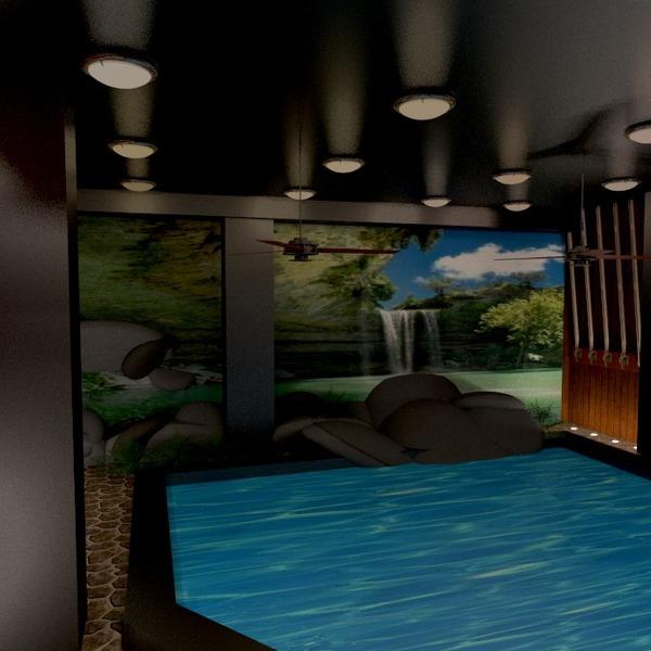photos décoration diy salle de bains eclairage idées