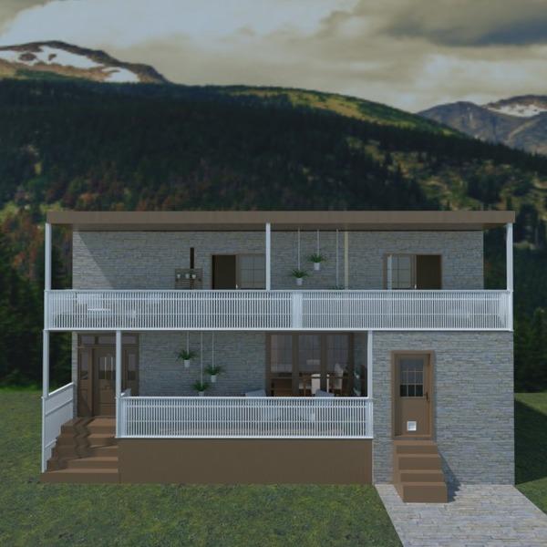nuotraukos namas terasa kraštovaizdis аrchitektūra prieškambaris idėjos