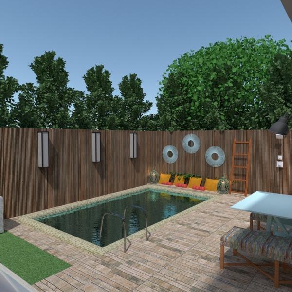 nuotraukos butas namas terasa baldai eksterjeras apšvietimas kraštovaizdis аrchitektūra idėjos