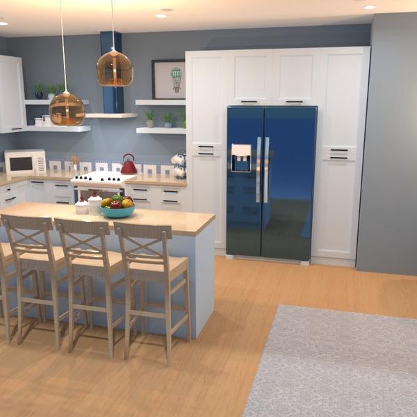 идеи дом декор кухня освещение столовая идеи