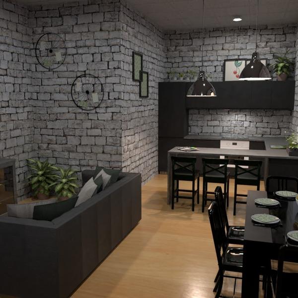 fotos apartamento decoração quarto cozinha sala de jantar ideias