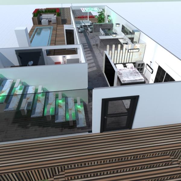 fotos casa varanda inferior decoração área externa iluminação ideias