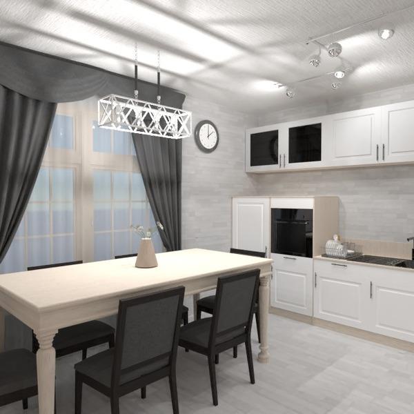 zdjęcia meble kuchnia oświetlenie jadalnia pomysły