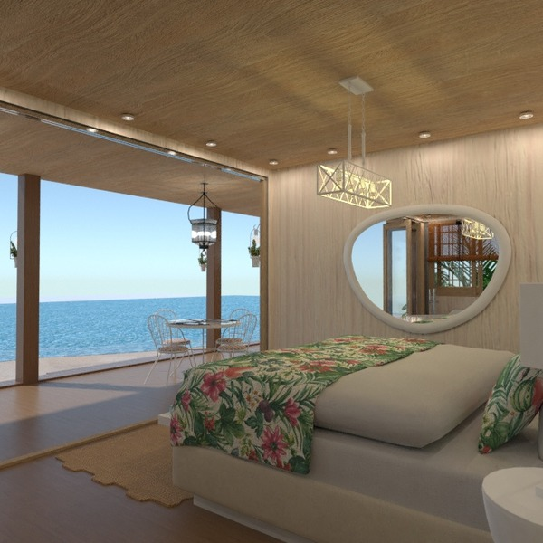 foto casa camera da letto esterno illuminazione paesaggio idee