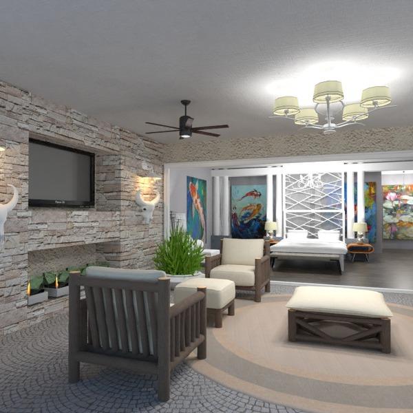 fotos terraza muebles decoración dormitorio iluminación ideas