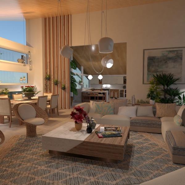 fotos casa decoración salón iluminación comedor ideas