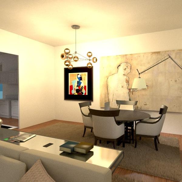 zdjęcia mieszkanie wystrój wnętrz pokój dzienny jadalnia pomysły