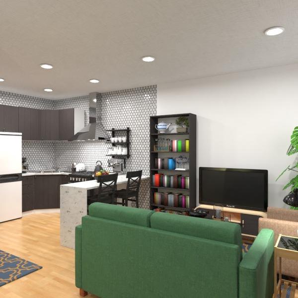 foto appartamento saggiorno cucina monolocale idee