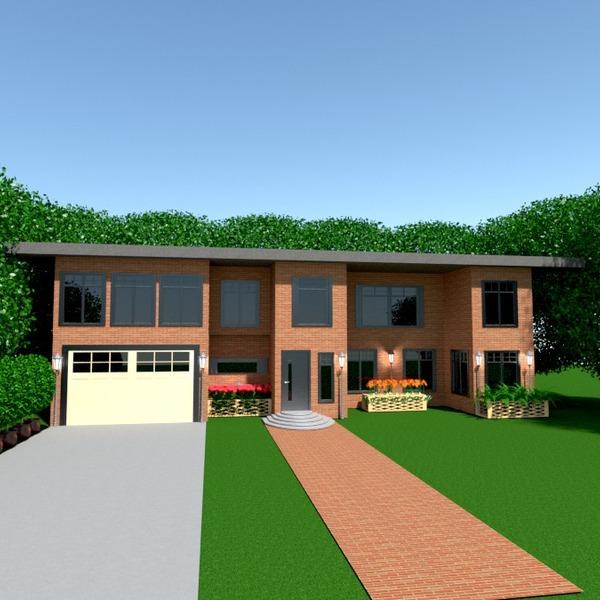 fotos apartamento casa garaje exterior paisaje arquitectura ideas