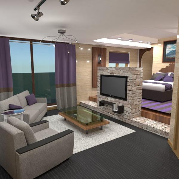 photos bedroom living room studio ideas