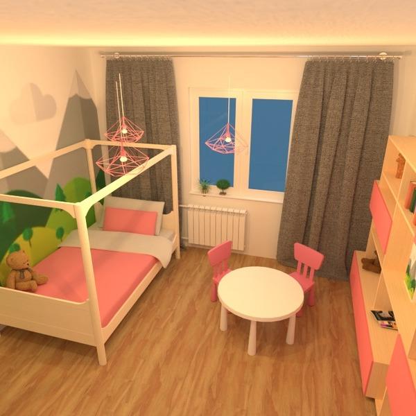 nuotraukos butas namas dekoras miegamasis svetainė vaikų kambarys apšvietimas renovacija idėjos