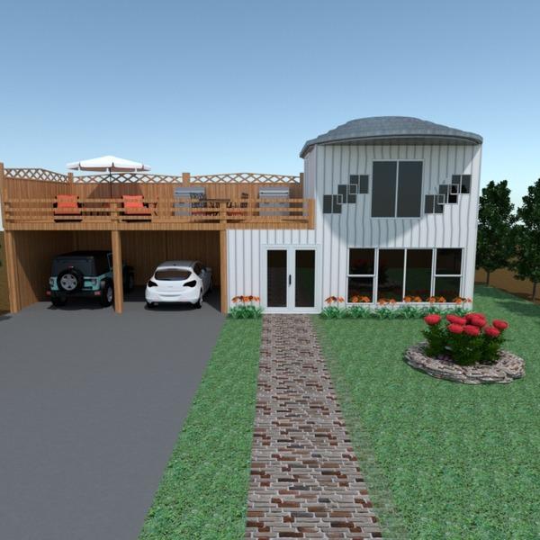 foto casa veranda arredamento garage esterno paesaggio architettura ripostiglio idee