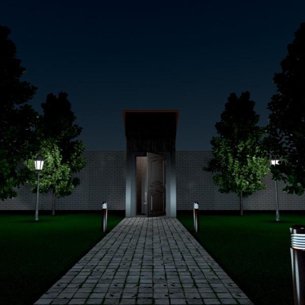 идеи дом терраса улица освещение ландшафтный дизайн идеи