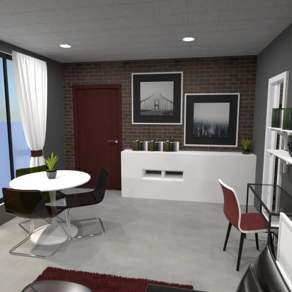 zdjęcia mieszkanie pokój dzienny jadalnia mieszkanie typu studio pomysły
