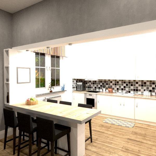fotos cocina exterior iluminación comedor ideas