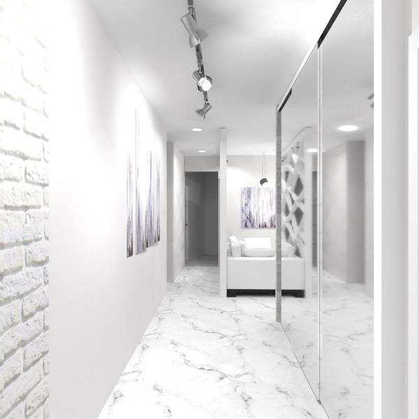 nuotraukos butas baldai svetainė virtuvė apšvietimas renovacija studija prieškambaris idėjos