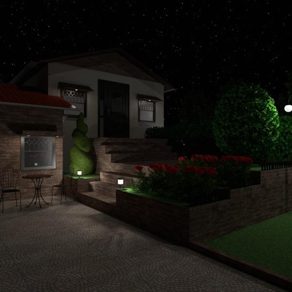 foto casa decorazioni esterno illuminazione paesaggio caffetteria idee