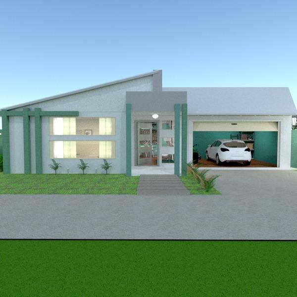 photos maison diy garage extérieur eclairage paysage architecture entrée idées