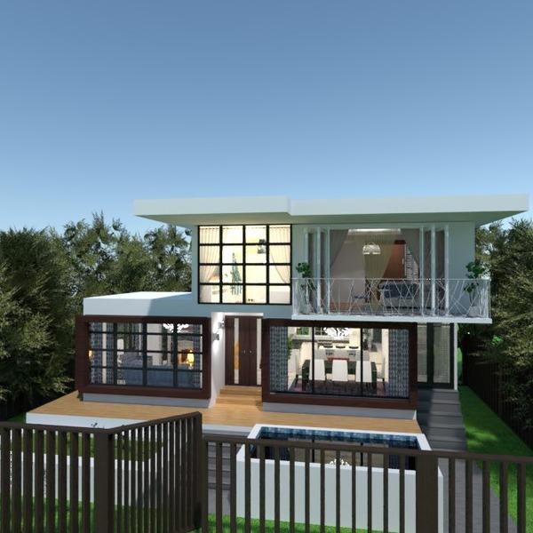 fotos casa terraza cocina iluminación comedor ideas