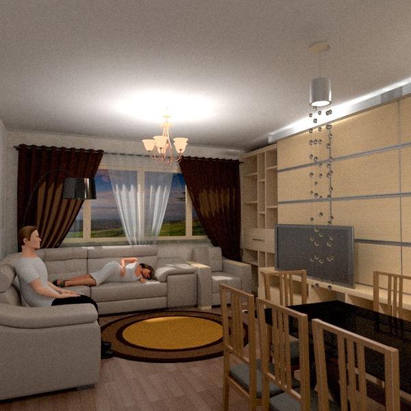 zdjęcia mieszkanie pokój dzienny oświetlenie jadalnia pomysły