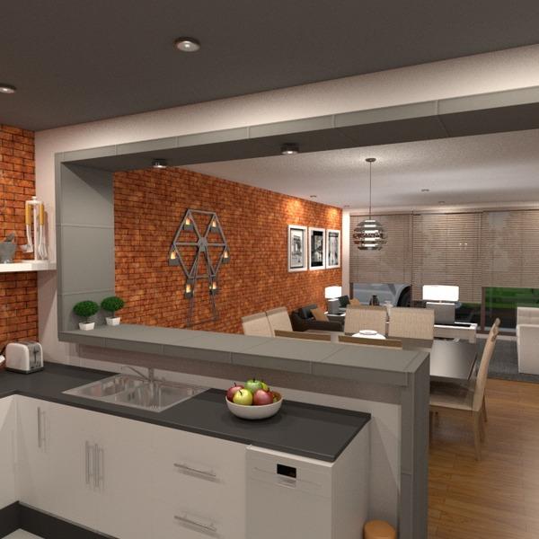 foto arredamento cucina esterno illuminazione paesaggio sala pranzo vano scale idee