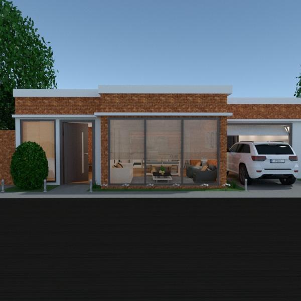 photos maison garage extérieur paysage architecture entrée idées