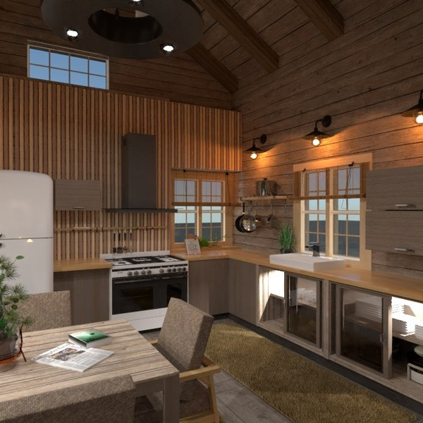 foto casa arredamento saggiorno cucina idee