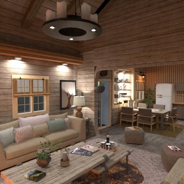 nuotraukos namas baldai svetainė virtuvė apšvietimas idėjos