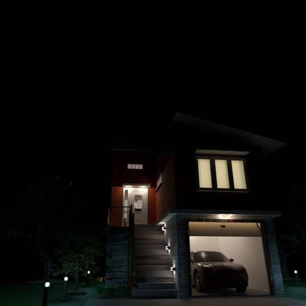 photos house garage lighting ideas