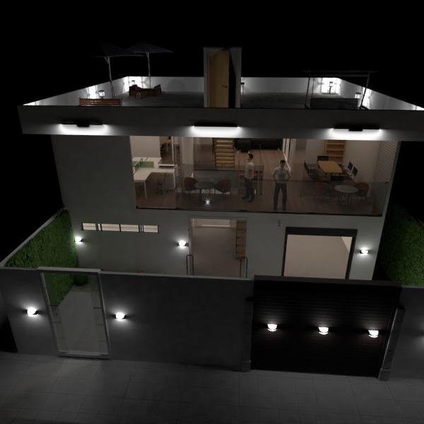 fotos exterior despacho iluminación arquitectura ideas