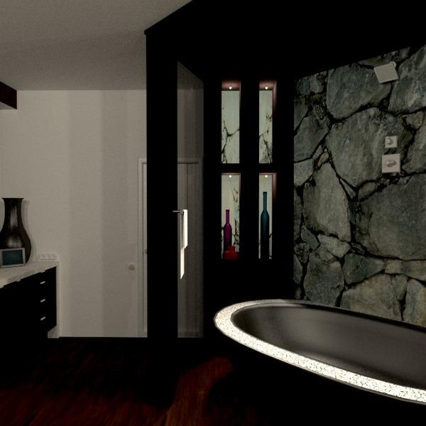 photos appartement décoration salle de bains eclairage idées