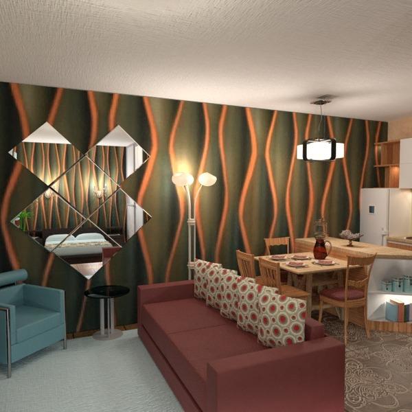 fotos apartamento mobílias decoração estúdio ideias