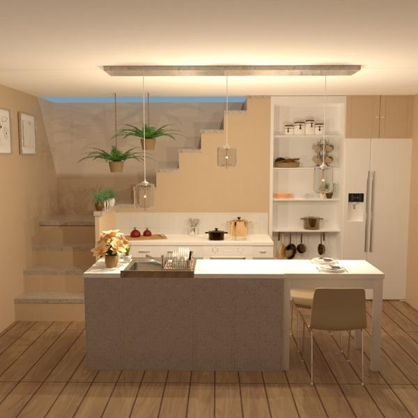 foto appartamento decorazioni cucina illuminazione sala pranzo idee