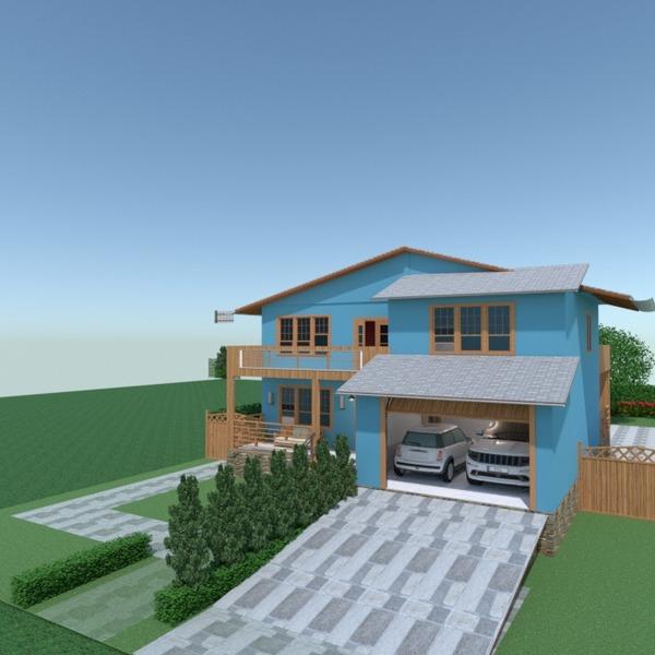 nuotraukos butas namas terasa miegamasis svetainė garažas virtuvė vaikų kambarys idėjos