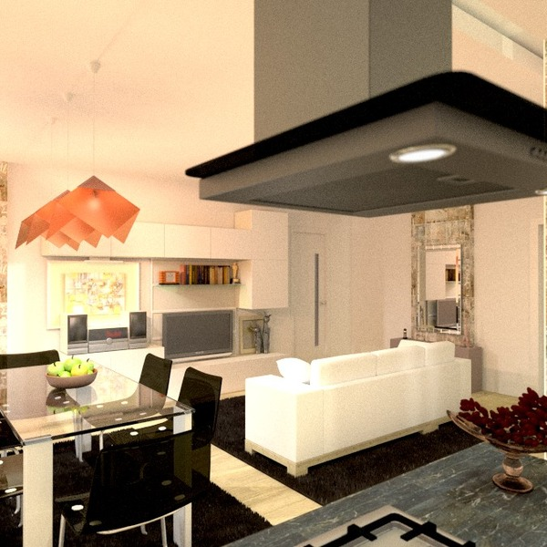 zdjęcia mieszkanie pokój dzienny kuchnia pomysły