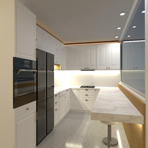 foto decorazioni cucina illuminazione rinnovo idee