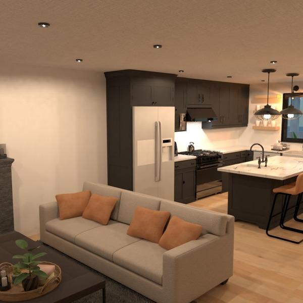 foto casa cucina illuminazione rinnovo famiglia idee