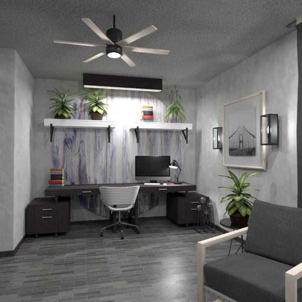 fotos muebles decoración despacho iluminación descansillo ideas