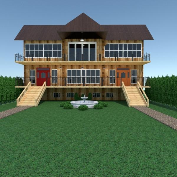 идеи терраса освещение ландшафтный дизайн архитектура идеи
