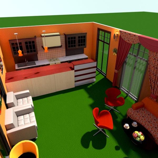 fotos casa varanda inferior mobílias decoração cozinha área externa iluminação paisagismo cafeterias ideias