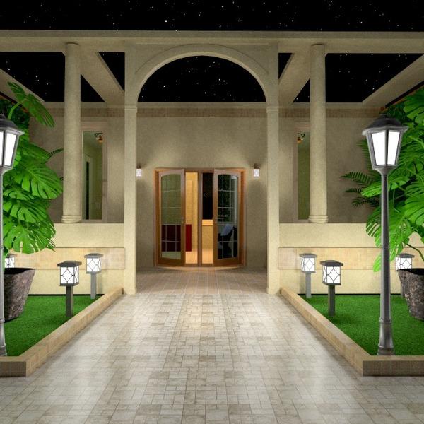 идеи дом терраса улица освещение архитектура идеи