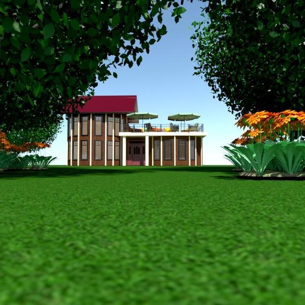 fotos casa terraza muebles exterior arquitectura ideas