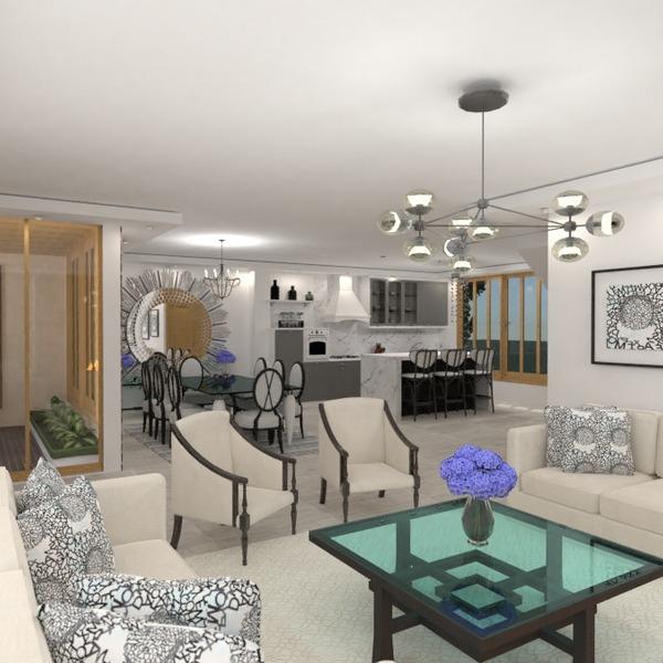 идеи квартира дом гостиная кухня освещение идеи