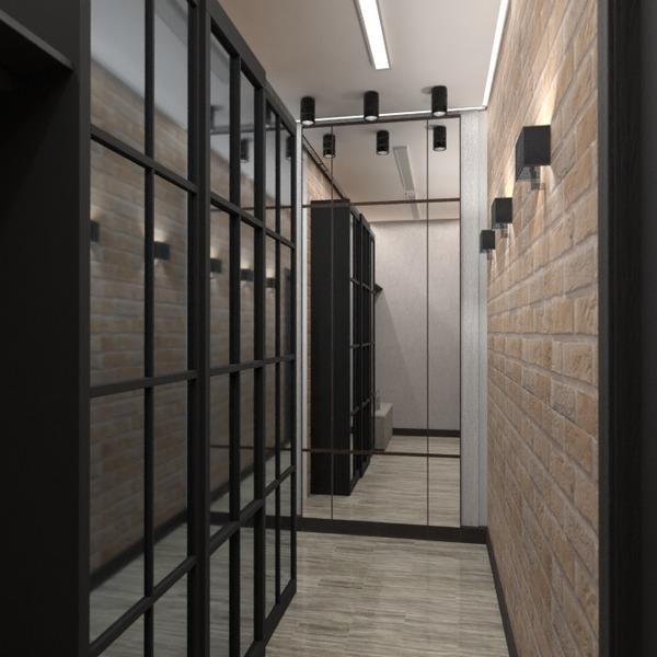 nuotraukos butas baldai apšvietimas renovacija prieškambaris idėjos