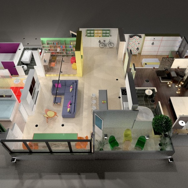 photos appartement terrasse meubles décoration salon rénovation idées