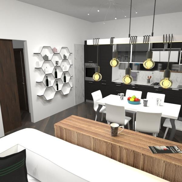 nuotraukos butas svetainė virtuvė valgomasis аrchitektūra idėjos