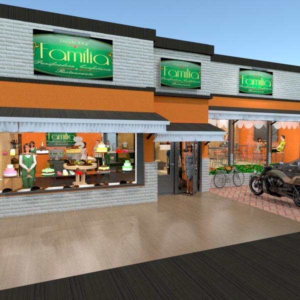 foto garage esterno illuminazione paesaggio caffetteria vano scale idee