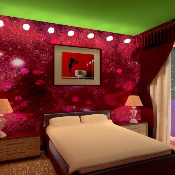 foto decorazioni angolo fai-da-te camera da letto illuminazione rinnovo idee