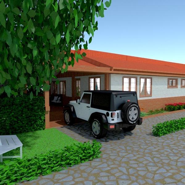 fotos casa terraza garaje exterior iluminación paisaje descansillo ideas